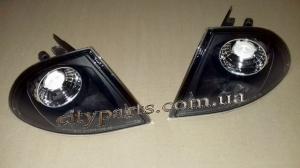 тюнинг повороты черные прозрачные БМВ Е46 1998 - 2002