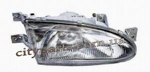 Фары Хиндай Акцент 1995 - 1997 купе 3-х дверный