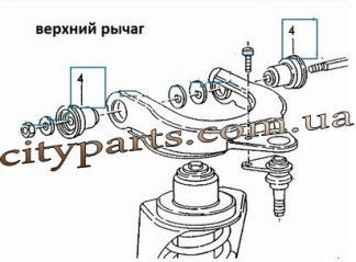Втулки рычага сайлентблоки Транспортер Т3 Т2 1980 - 1992 г