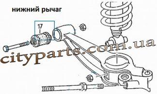 Сайлентблок нижнего рычага Транспортер Т3 Т2 1980 - 1992